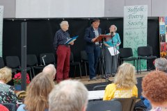Frank Wood, Ian Griffiths and Marguerite Wood