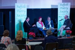 James Knox Whittet, Pam Job, David Healey In Conversation with Douglas Coombes