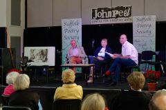 Rodney Pybus, Lorna Tracy Silkin and Douglas Coombes discussed John Silkin
