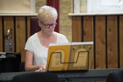 Jill Garrett playing Nimrod by Edward Elgar for Terry Waite