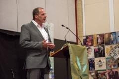 James Knox Whittet, President of SPS, giving thanks