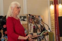 Fran Reader for Arlingtons Café Poets