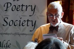 Ivor Murrell read André Mangeots Highly Commended poem Ash