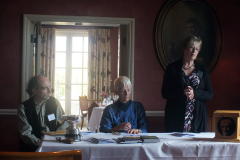 Kenneth Stevens (Adjudicator), Pauline Stainer (President), Ann Knox Whittet (Crabbe Secretary)