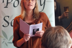 Jen Overett reading One Night (commended)