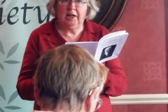 Barbara Strangward reading Grass Snake (commended)