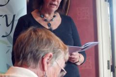 Caroline Gilfillan reading Raspberries (commended)