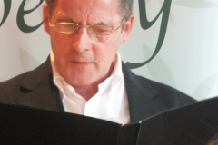 James Knox Whittet reading both Keys and Weaving The Silence (both commended)