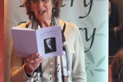 Gill Napier reading In Memory, for Rebecca Goss