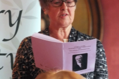 Anne Boileau reading Study to be Quiet (2nd Prize)