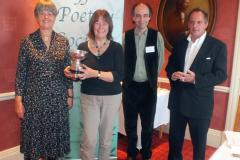 Anne Boileau (2nd), Caroline Gilfillan (1st), Kenneth Stevens (Adjudicator), James Knox Whittet (3rd)
