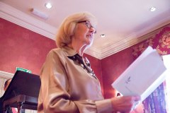 Maggie Andrews, reading for Wendy Partridge, Commended for Reading Louis MacNeice
