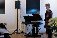 Carol Bleiker singing Pebble Work