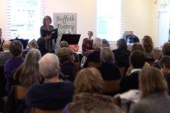 Gill Phillips singing Arger Fen