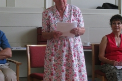 Beryl Dyson speaking in her native Suffolk dialect
