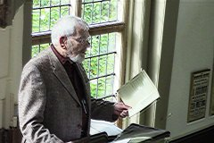 Frank Wood reading 'The Song of Love'