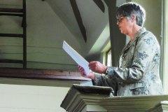 Anne Boileau reading 'My Blue Piano'