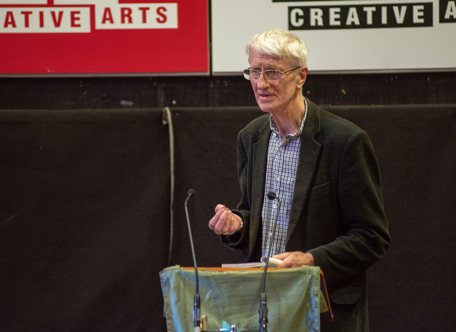 Grevel Lindop at the 6th Festival of Suffolk Poetry